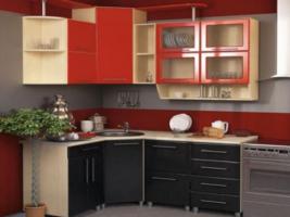 Угловая кухня Dolce Vitа-15, МДФ металлик