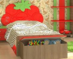 Детская кровать с ящиком Vitamin М (90х190)