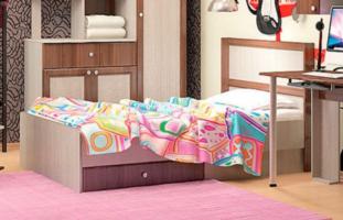 Детская кровать с ящиком Vitamin 1 (90х190)