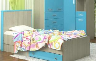 Кровать Vitamin-8 с ящиком, МДФ глянец