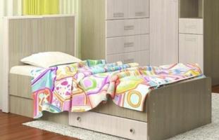 Кровать Vitamin-8 с ящиком, МДФ матовый