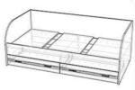 Кровать Лотос КР-804/КР-804-К (90х190)