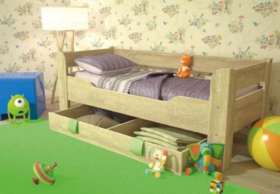 Детская кровать с ящиком 800*1900 Мийа-4