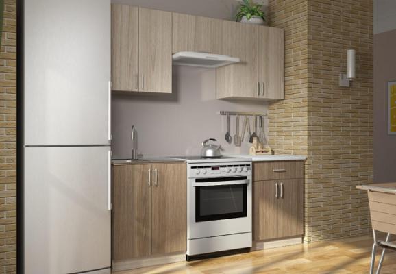 Модульная кухня Дарья, ЛДСП (композиция 2)