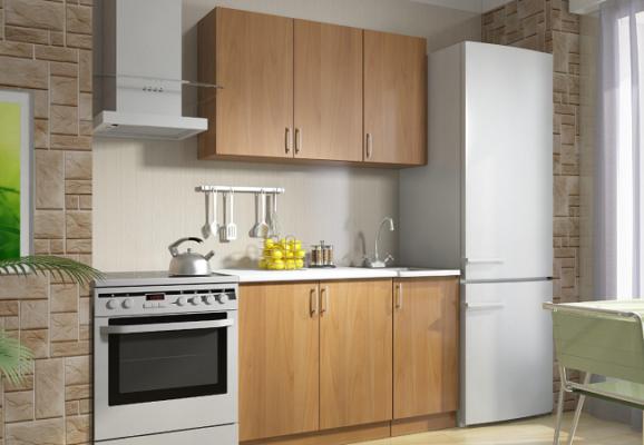 Модульная кухня Дарья, ЛДСП (композиция 1)